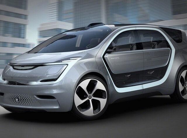 Chrysler Portal - электрический минивэн с беспилотным функционалом для миллениалов