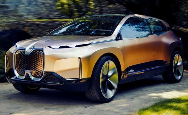 Электрический кроссовер BMW iNEXT: представлено будущее немецкого автопрома