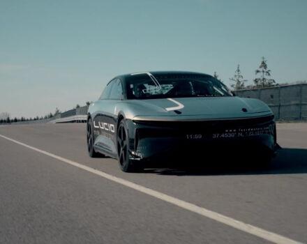 Электромобиль Air Lucid Motors разогнала до 350 км/ч (видео)