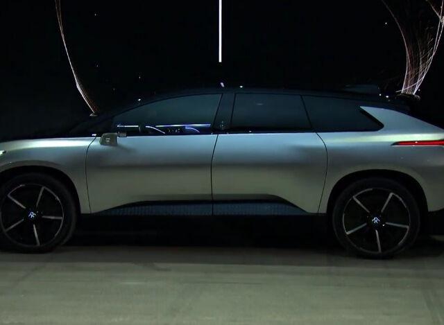 FF 91: новый электромобиль Faraday Future дебютировал на CES
