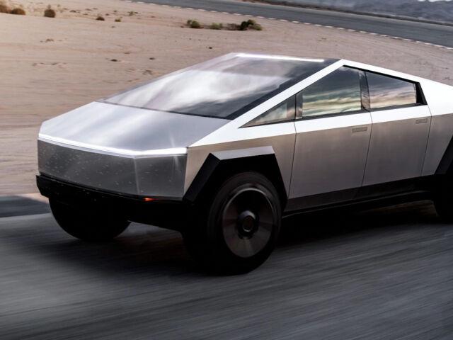 Tesla Cybertruck пікап фото