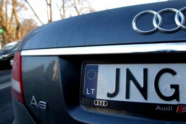 Новая страшилка для владельцев авто на литовских номерах