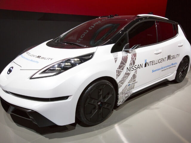 Новое поколение Nissan LEAF с беспилотной системой ProPILOT анонсировано на CES 2017