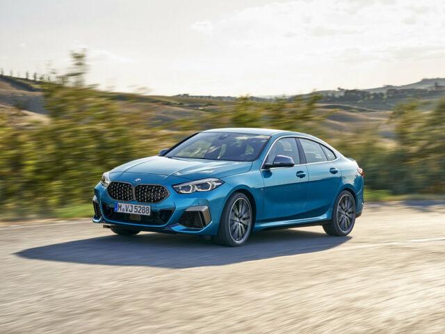 фото нового спортивного седану BMW 2 Series Gran Coupe
