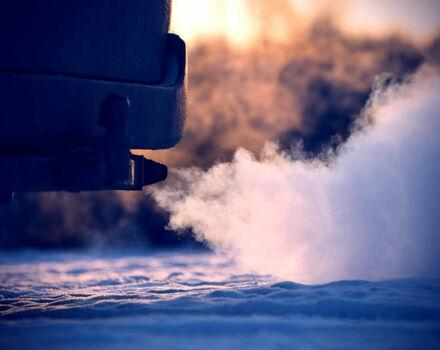 Сколько топлива расходуется на прогрев машины