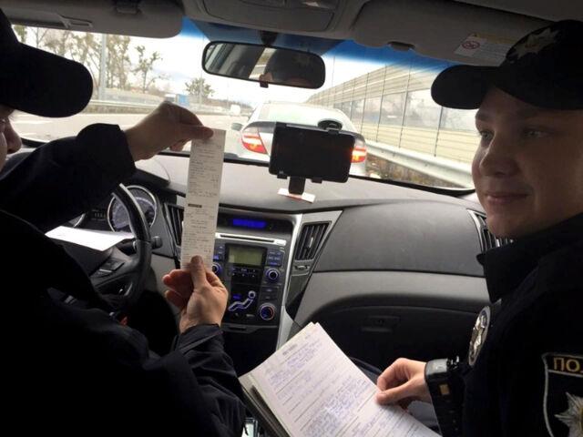 Законопроект о новых штрафах для водителей уже в Раде