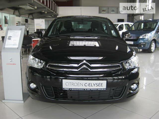 Новый автомобиль Ситроен С-Элизе от 12329$ на AutoMoto.ua