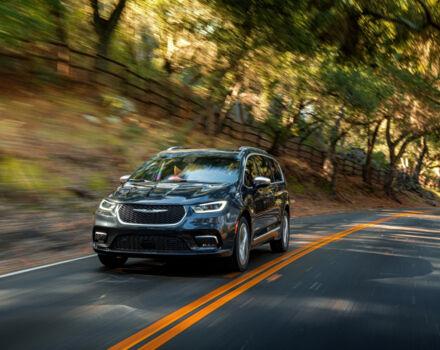 Купить люксовый семейный минивэн Chrysler Pacifica 2021 на AutoMoto.ua