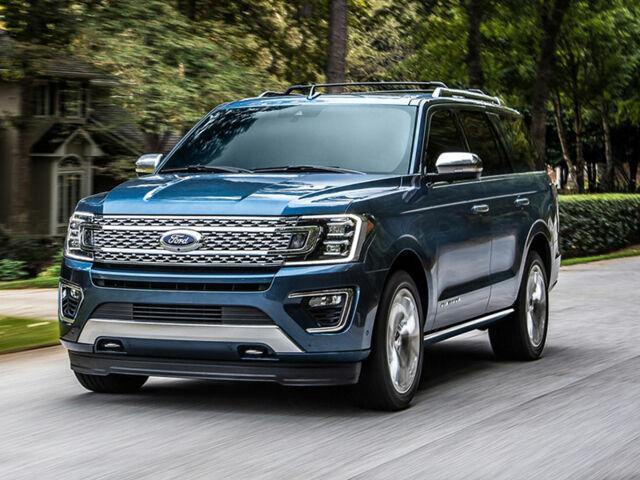 Ford Expedition 2020 внедорожник синий цвет
