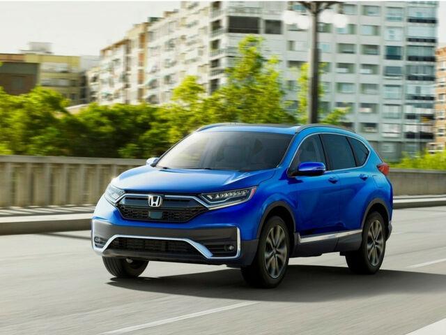 Компактный внедорожник Honda CR-V 2021