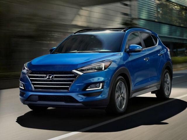 Новый Hyundai Tucson синего цвета на AutoMoto.ua