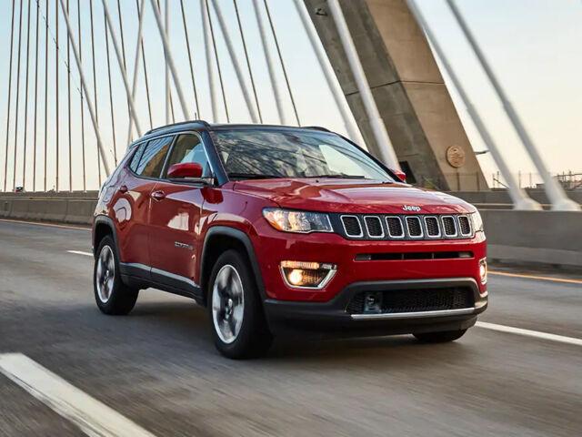 Новий позашляховик Jeep Compass 2021 на AutoMoto.ua