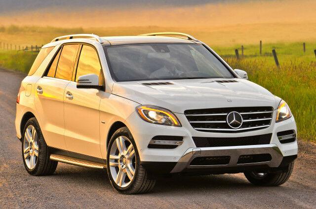Як ми тестували Mercedes-Benz ML 350