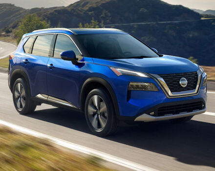 Оголошення про продаж нового Nissan Rogue 2021