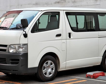 Як ми тестували Toyota Hiace 2016