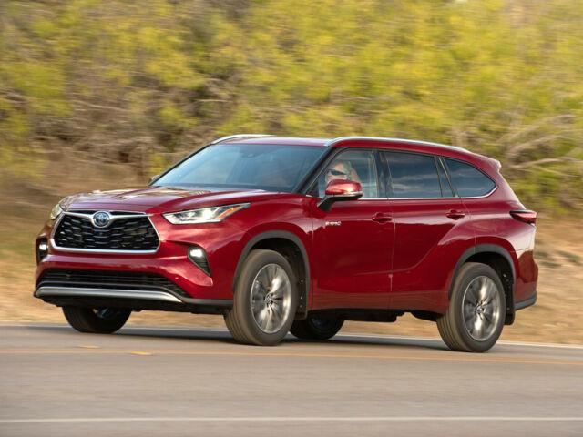 Купить новый автомобиль Тойота Хайлендер 2021 на автобазаре AutoMoto.ua
