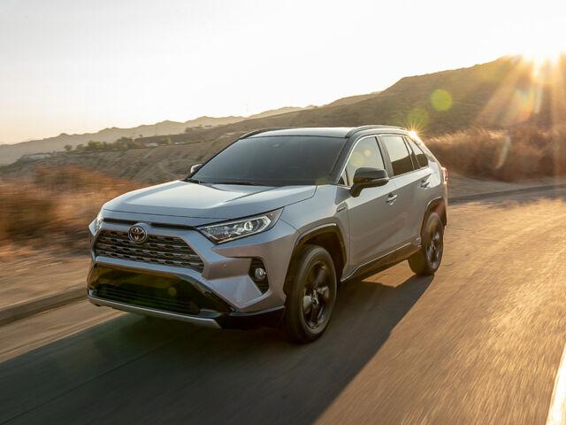 Купити новий автомобіль Тойота РАВ4 2021 на автобазарі AutoMoto.ua