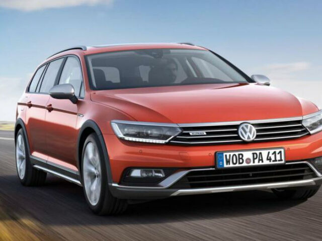 Volkswagen Passat Alltrack null