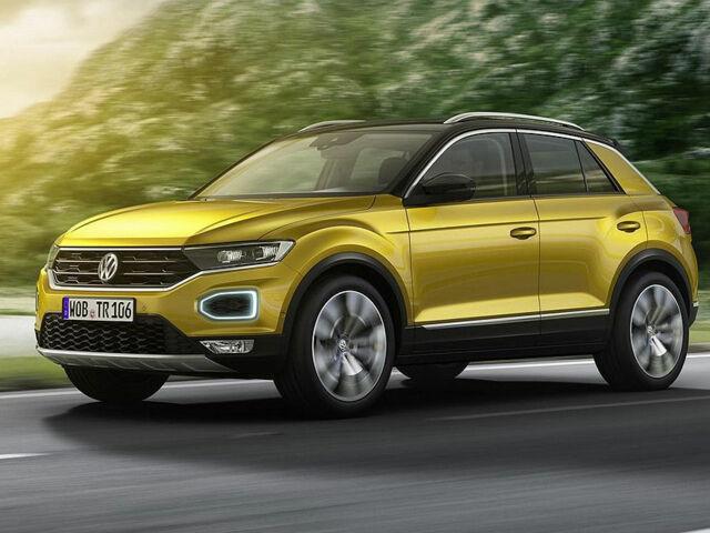 Кроссовер Volkswagen T-Roc 2020 года выпуска