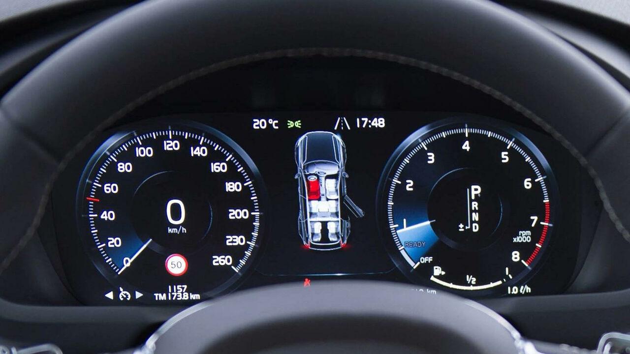 Цифровая панель приборов Volvo XC90 2021