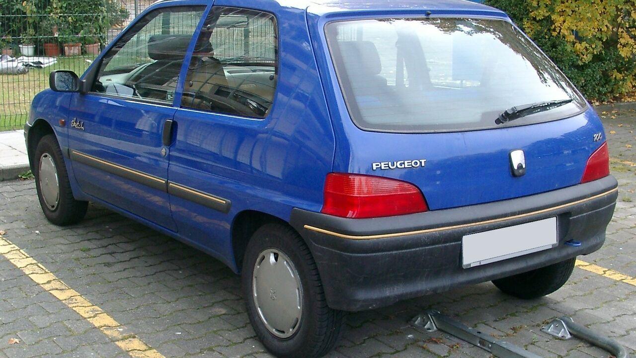 Peugeot 106 null на тест-драйве, фото 6