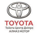"""Офіційний логотип автосалону Тойота Центр Дніпро """"Алмаз Мотор"""" на AutoMoto.ua"""