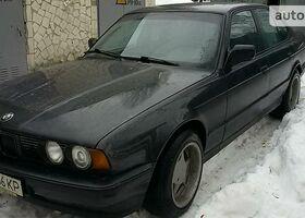 Черный БМВ 5 Серия, объемом двигателя 2 л и пробегом 371 тыс. км за 4500 $, фото 1