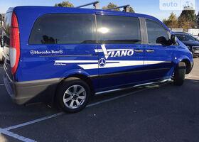 Синий Мерседес Виано, объемом двигателя 2.2 л и пробегом 156 тыс. км за 14500 $, фото 1