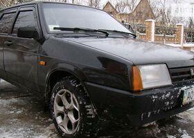 Чорний ВАЗ 2109, объемом двигателя 15 л и пробегом 270 тыс. км за 3400 $, фото 1