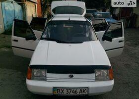 Белый ЗАЗ 1103 Славута, объемом двигателя 1.2 л и пробегом 130 тыс. км за 2300 $, фото 1