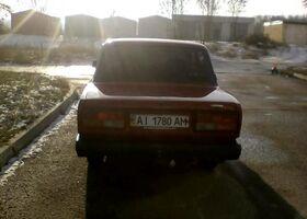 Красный ВАЗ 2107, объемом двигателя 15 л и пробегом 100 тыс. км за 1300 $, фото 1