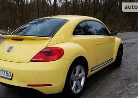 Желтый Фольксваген Битл, объемом двигателя 14 л и пробегом 44 тыс. км за 18500 $, фото 1