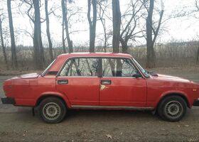 Червоний ВАЗ 2105, объемом двигателя 1.3 л и пробегом 73 тыс. км за 650 $, фото 1