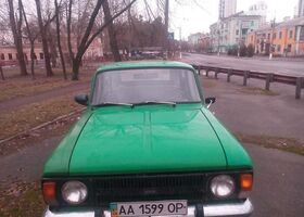 Зелений Москвич / АЗЛК 2125, объемом двигателя 1.5 л и пробегом 27 тыс. км за 856 $, фото 1