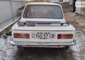 Белый ЗАЗ 968, объемом двигателя 1.2 л и пробегом 44 тыс. км за 300 $, фото 1