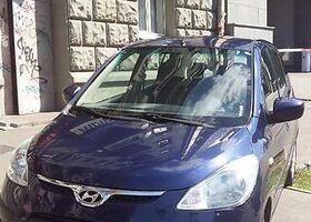 Синий Хюндай и10, объемом двигателя 1.1 л и пробегом 73 тыс. км за 7000 $, фото 1
