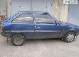 Синий ЗАЗ 1102 Таврия, объемом двигателя 1.3 л и пробегом 110 тыс. км за 1750 $, фото 1