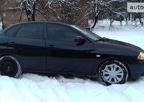 Чорний Сеат Ibiza, объемом двигателя 2 л и пробегом 168 тыс. км за 6700 $, фото 1
