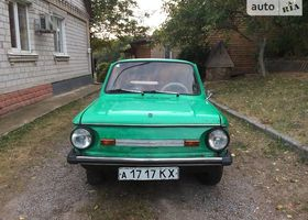 Зелений ЗАЗ 968, объемом двигателя 0.04 л и пробегом 140 тыс. км за 300 $, фото 1
