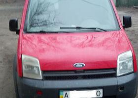Красный Форд Турнео Коннект, объемом двигателя 1.8 л и пробегом 650 тыс. км за 6000 $, фото 2