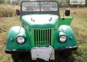 Зеленый ГАЗ 69, объемом двигателя 2.5 л и пробегом 5 тыс. км за 1199 $, фото 1