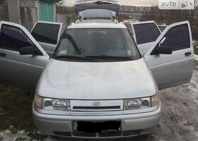 Серебряный ВАЗ 2111, объемом двигателя 1.6 л и пробегом 151 тыс. км за 3500 $, фото 1