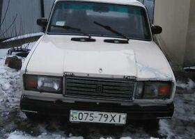 Білий ВАЗ 2107, объемом двигателя 1.3 л и пробегом 1 тыс. км за 555 $, фото 1