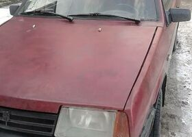Вишнёвый ВАЗ 21108, объемом двигателя 1.5 л и пробегом 1 тыс. км за 1100 $, фото 1
