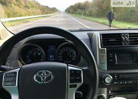 Черный Тойота Ленд Крузер Прадо 150, объемом двигателя 4 л и пробегом 93 тыс. км за 36999 $, фото 1