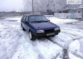 Синій ВАЗ 2109, объемом двигателя 1.3 л и пробегом 100 тыс. км за 1600 $, фото 1