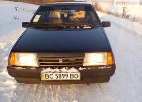 Черный ВАЗ 2109, объемом двигателя 1.6 л и пробегом 76 тыс. км за 3250 $, фото 1