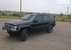 Чорний Джип Grand Cherokee, объемом двигателя 2.5 л и пробегом 260 тыс. км за 9000 $, фото 1