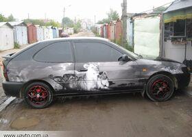 Черный Тойота Королла, объемом двигателя 13 л и пробегом 273 тыс. км за 3000 $, фото 1