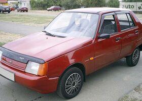 Красный ЗАЗ 1103 Славута, объемом двигателя 1.2 л и пробегом 37 тыс. км за 2400 $, фото 1